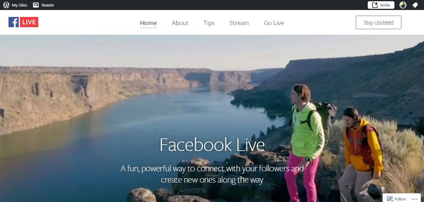 Facebook Live - Facebook Live Video Streaming App