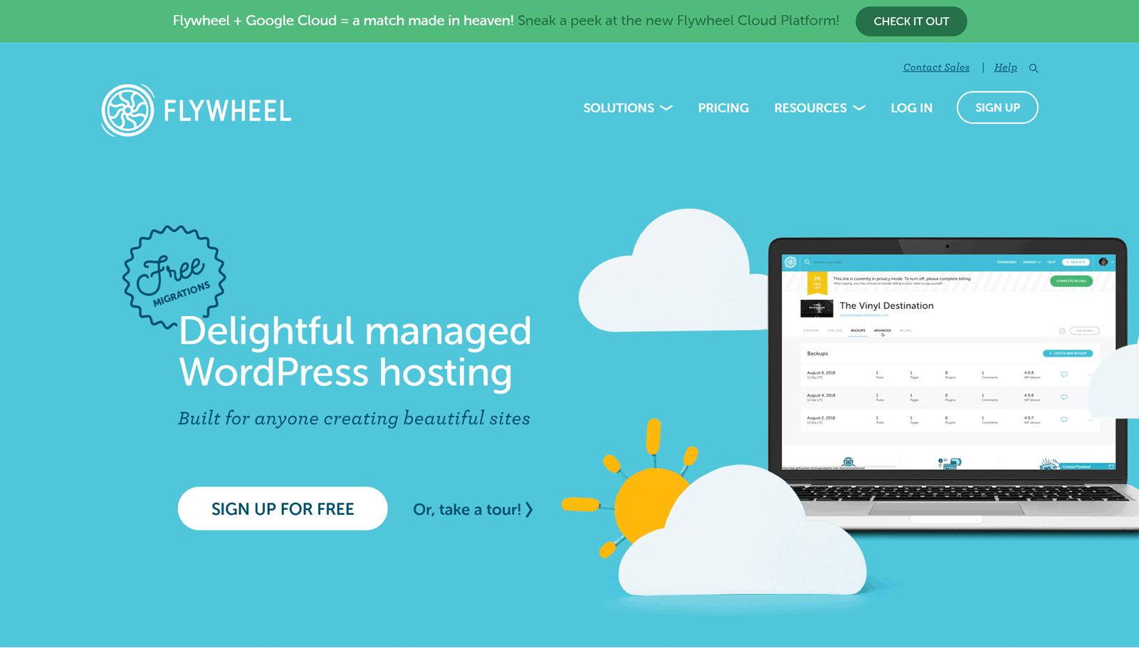 Flywheel-Review-Homepage