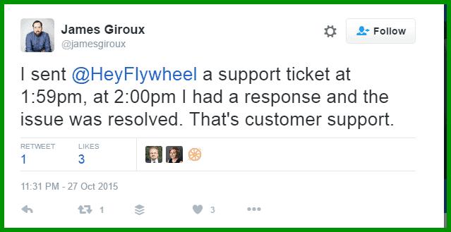 Flywheel customer support