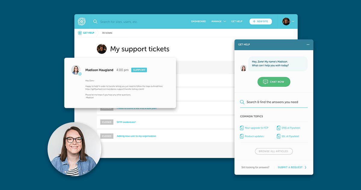 Flywheel support