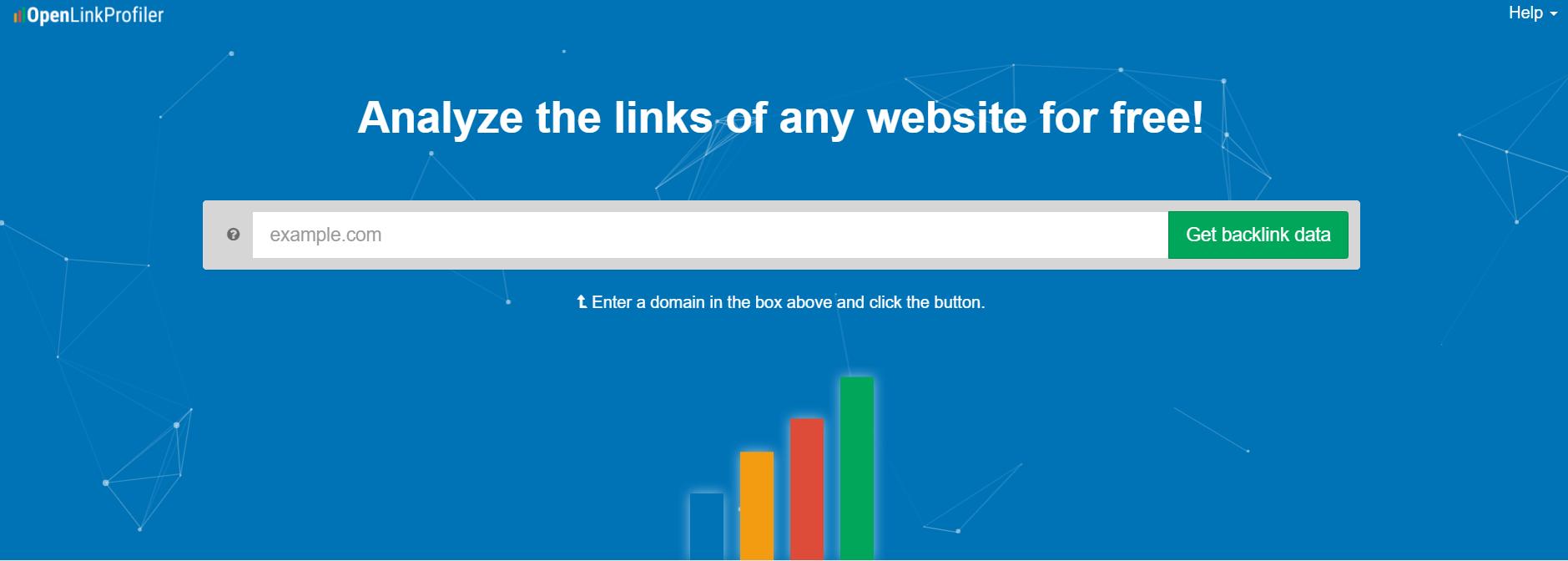 Free link analysis tool- OpenLinkProfiler