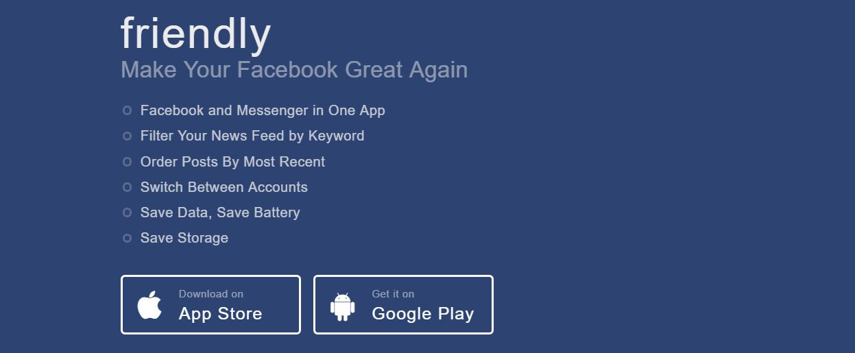 Friendly Social- Facebook Messenger Apps