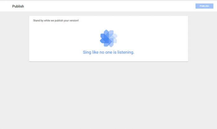 Google Tag Manager- Publish