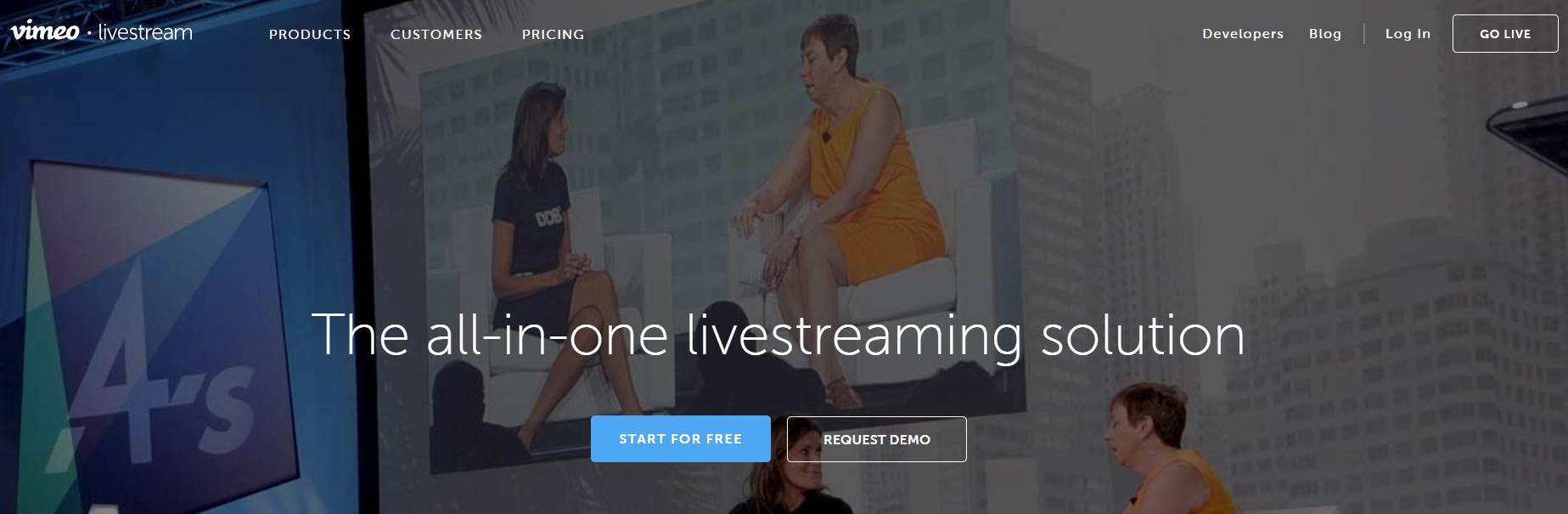 Livestream - Best Webinar Software