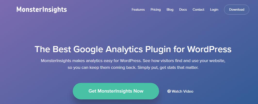 Google Analytics- MonsterInsights
