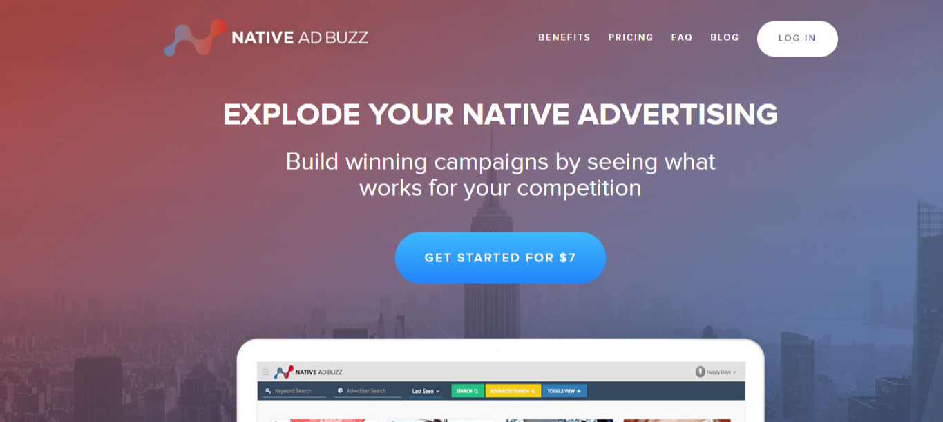 NativeAdBuzz Facebook Ad Spy Tool