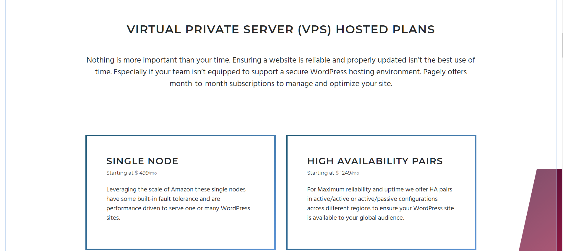 Pagely Review- WordPress Hosting Plans