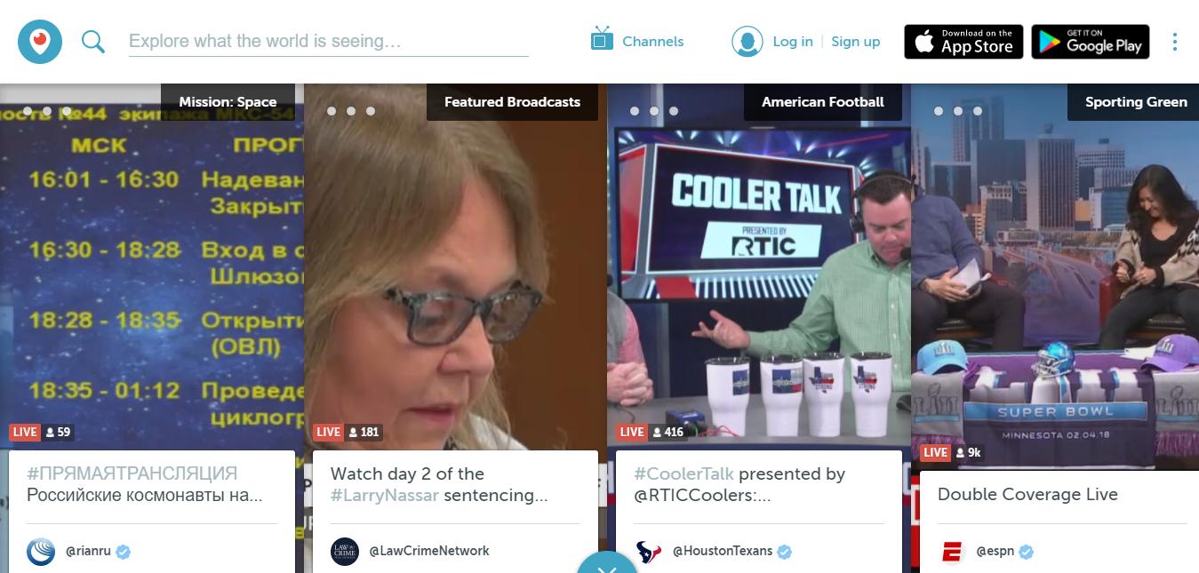 Periscope - Best Facebook Live Streaming App