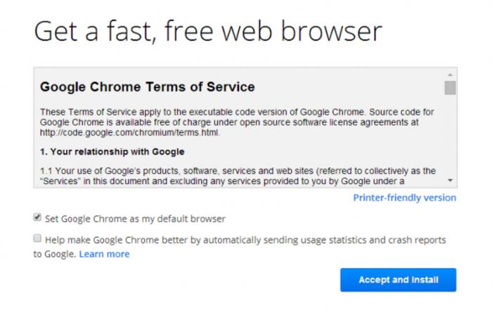 Google Chrome- set up Chromecast for Windows 7