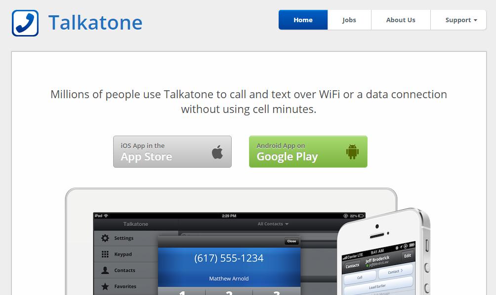 Talktone- Best Texting Apps