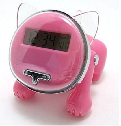 The Bright Talking Kitten Cat Alarm Clock for heavy sleepers