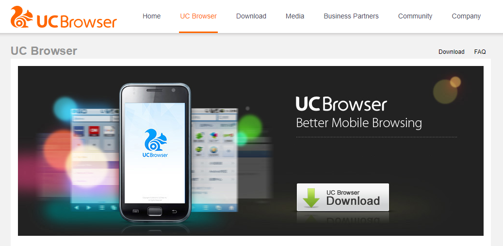 UC Browser- Best Android Browser