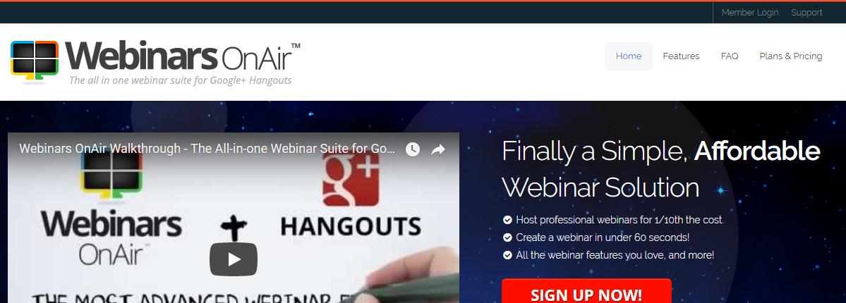Webinars OnAir- Webinar Software