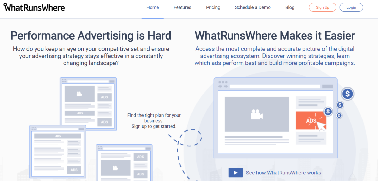 WhatRunsWhere- Best Facebook Ads Spy Tools