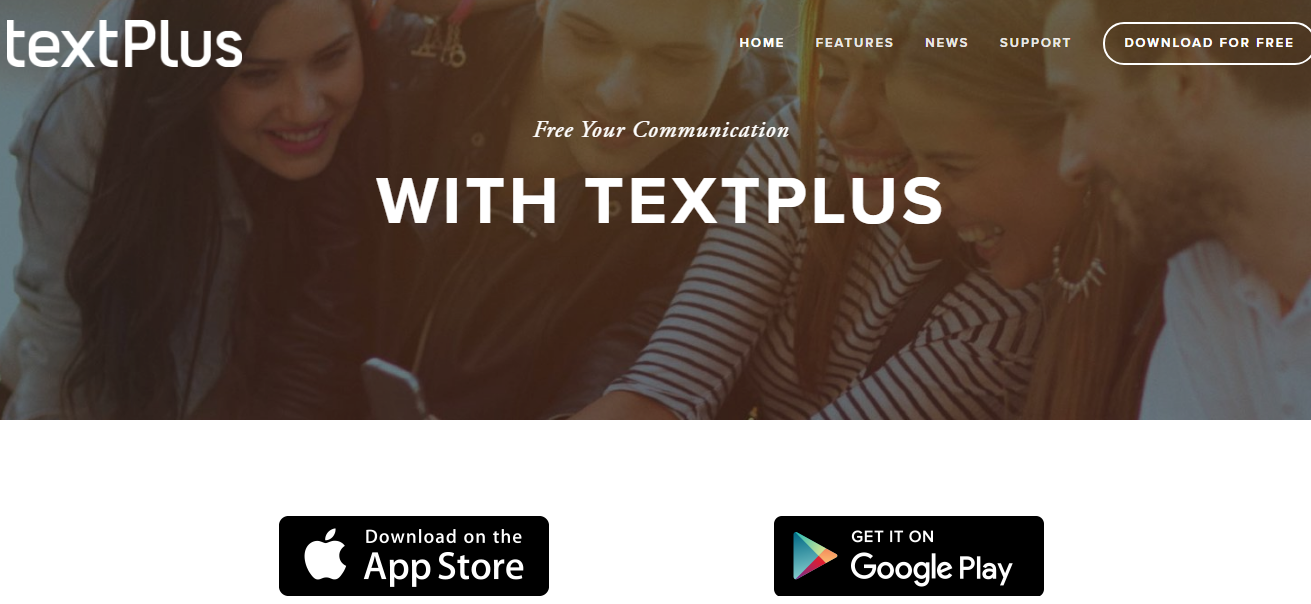 textPlus- Best Texting Apps