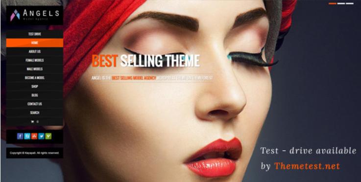 Angel - WordPress Blog Themes