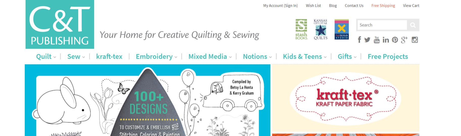 C&T Publishing- Art Affiliate Program