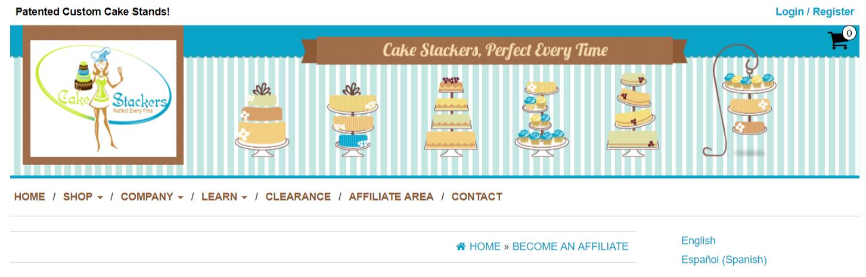 CackeStackers- Art Affiliate Programs