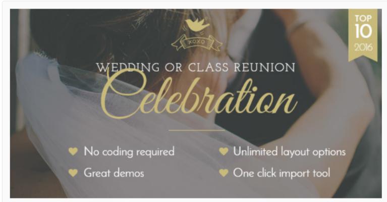 Celebration- WordPress Wedding Themes