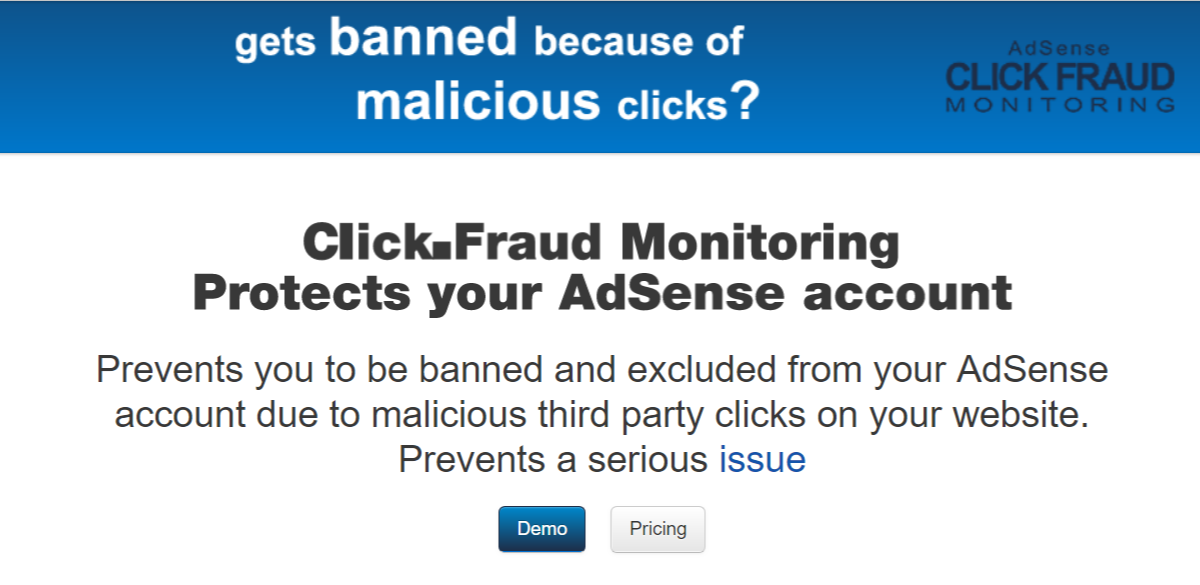 Click Fraud Monitoring Protects - AdSense Plugins For WordPress