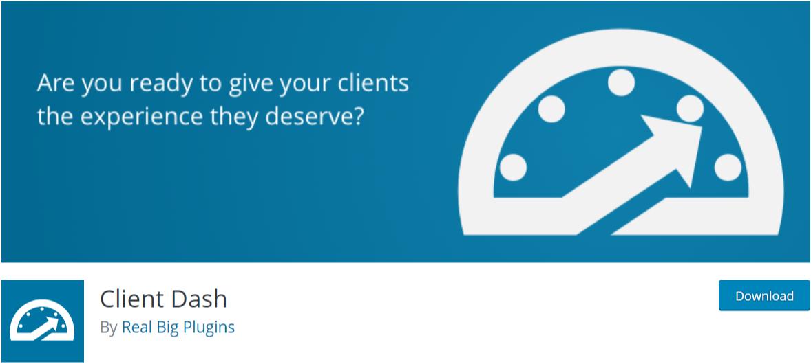 Client Dash — WordPress Admin Dashboard Plugins