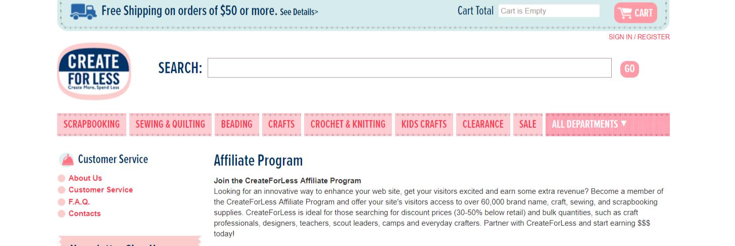 CreateForLess- Art Affiliate Programs