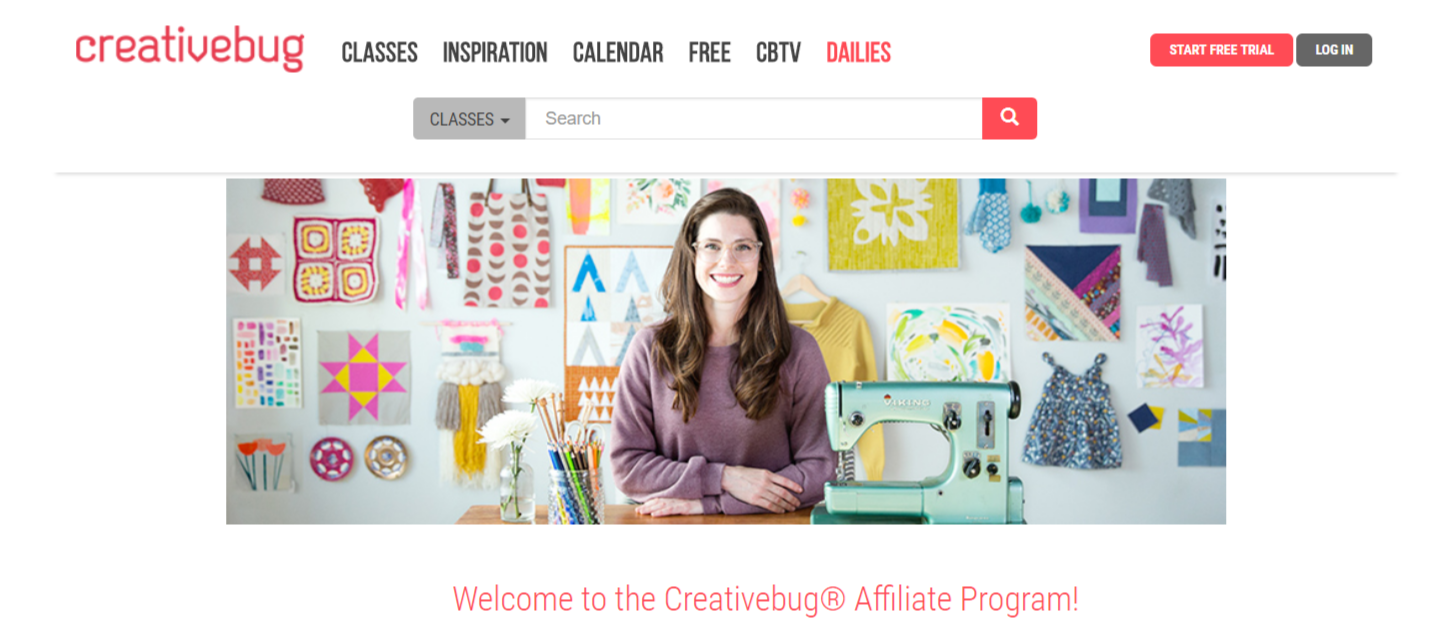 Creativebug- Art Affiliate Programs