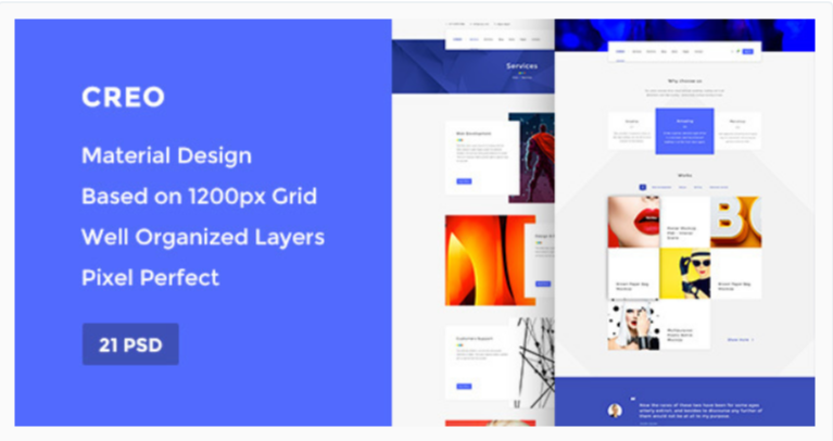 Creo — Marketplace WordPress Themes