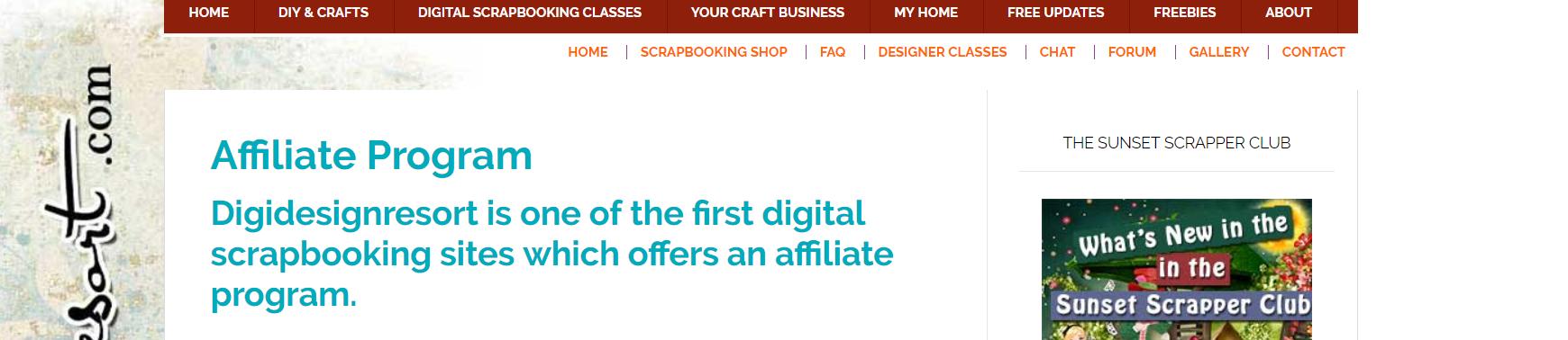 DigiDesignResort- Art Affiliate Programs