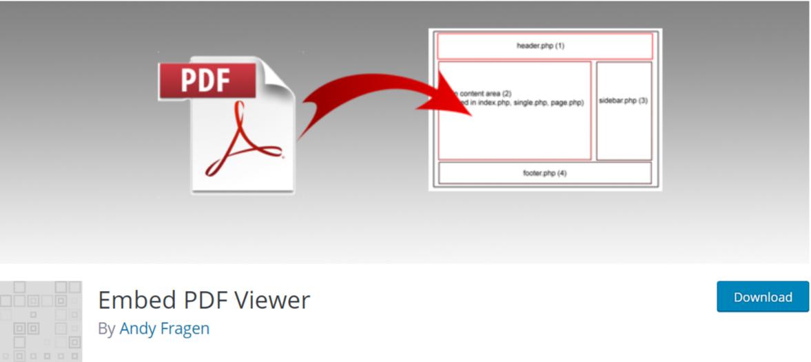 Embed PDF Viewer — WordPress PDF Plugins