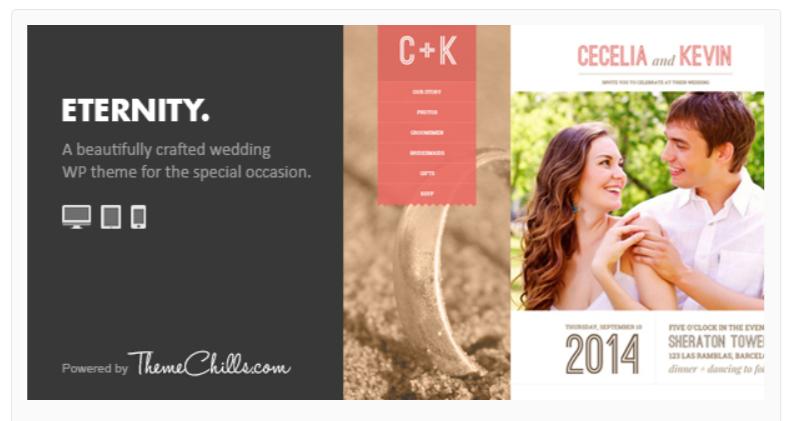 Eternity-WordPress Wedding Themes