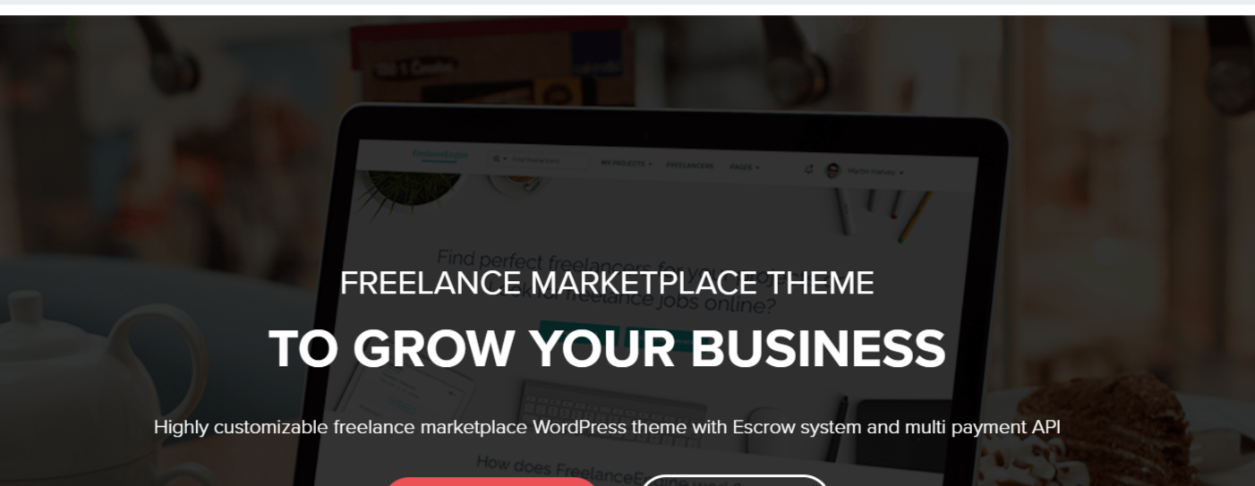 FreelanceEngine - Marketplace WordPress Themes