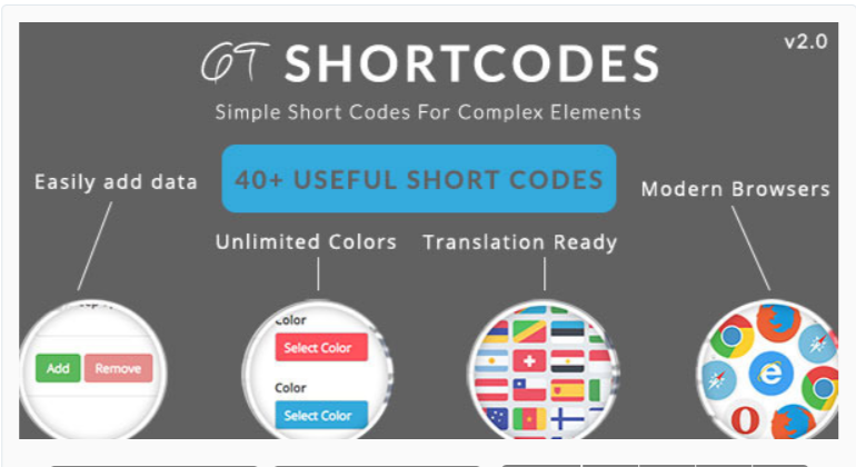 GT ShortCodes- WordPress Shortcode Plugins