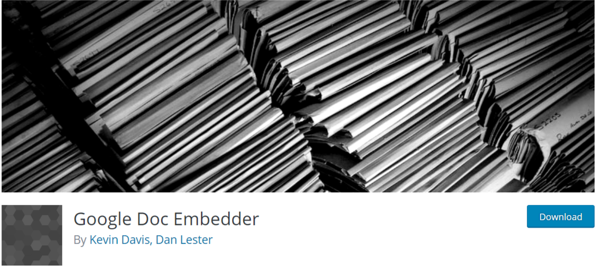 Google Doc Embedder — WordPress PDF Viewer Plugins