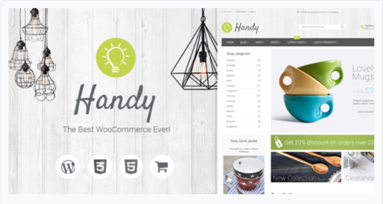 Handy- Marketplace WordPress Themes