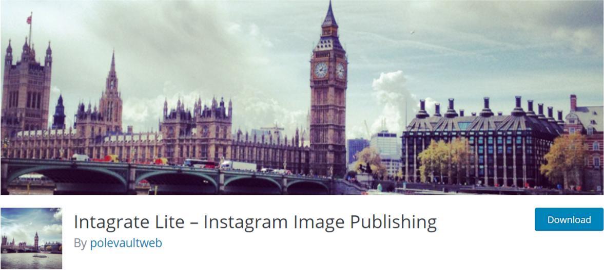 Intagrate Lite – — WordPress Instagram Plugins
