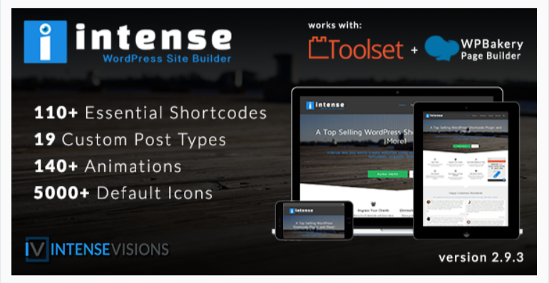 Intense- WordPress Shortcodes Plugins and Site Builder
