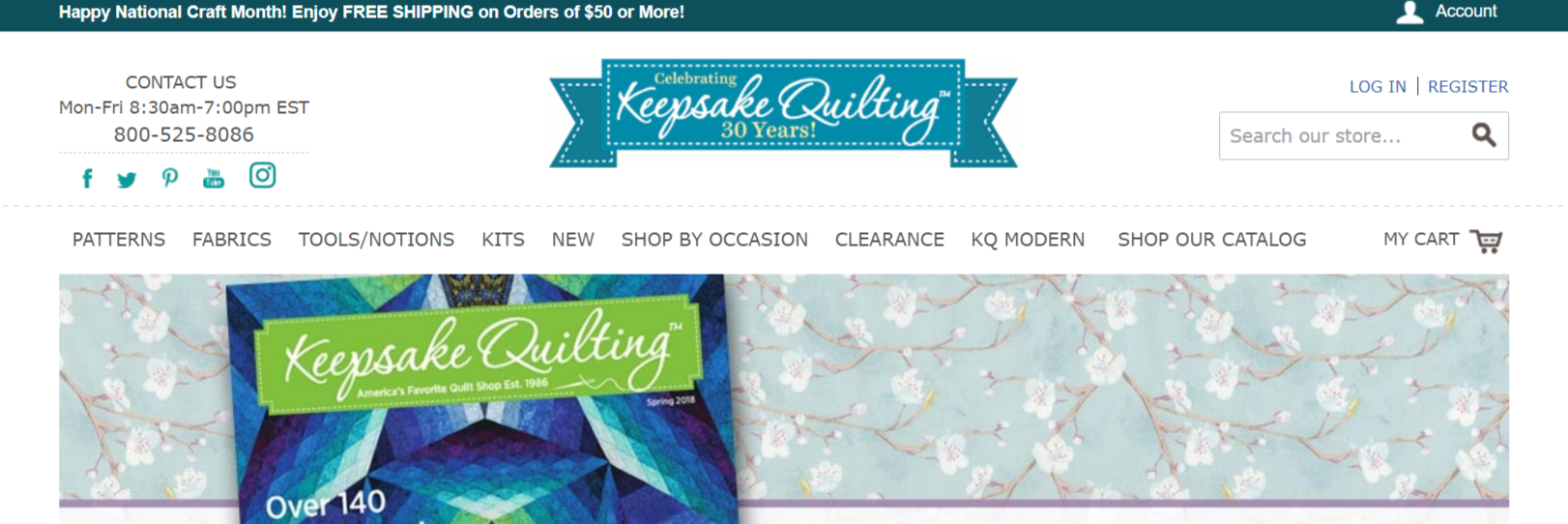 KeepsakeQuilting- Arts Affiliate Programs
