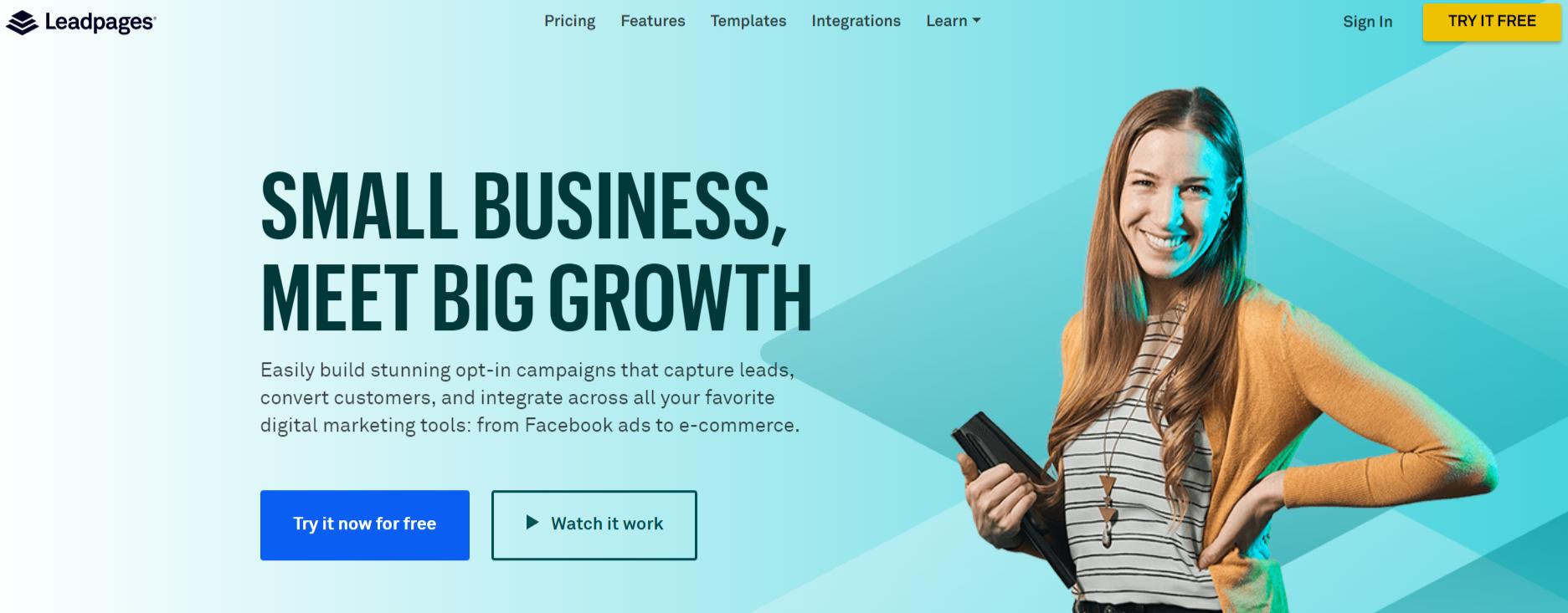 Leadpages®- WordPress Email Marketing Plugins