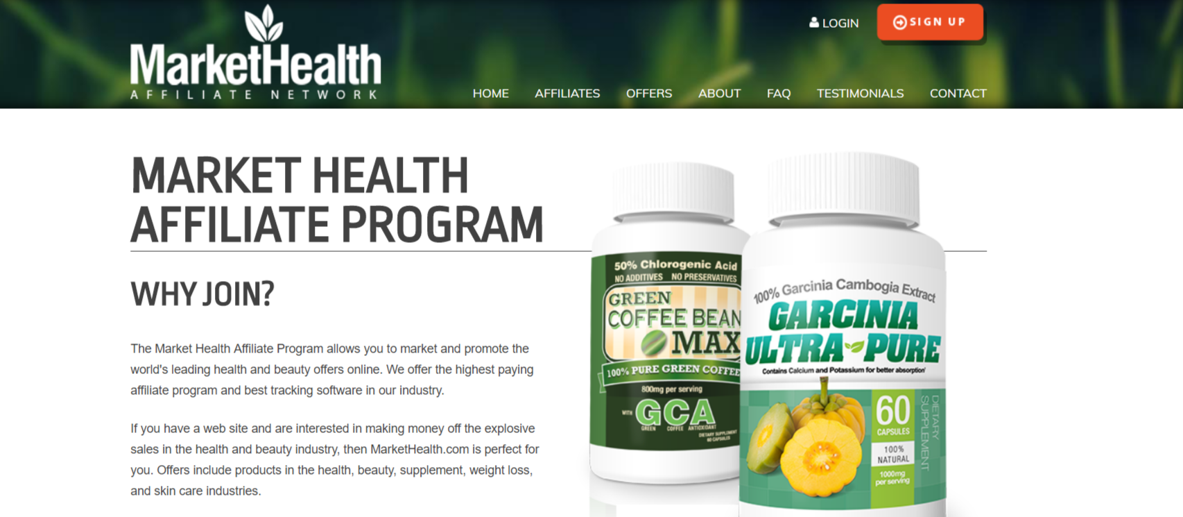 MarketHealth- Affiliate Programs