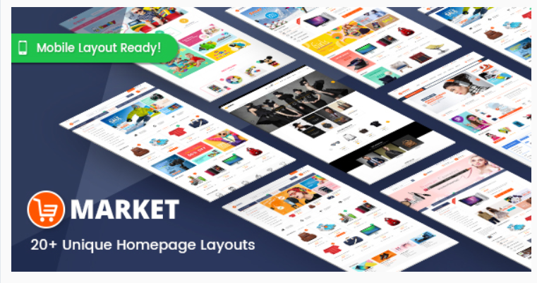 Market- Marketplace WordPress Themes