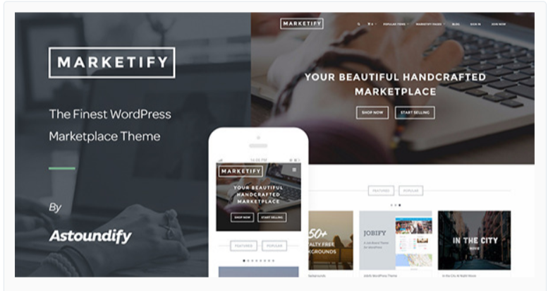 Marketify - Marketplace WordPress Themes