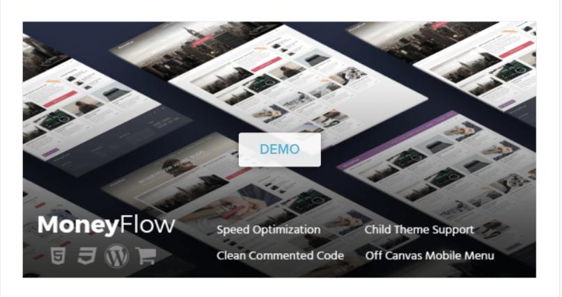 MoneyFlow - WordPress Blog Themes