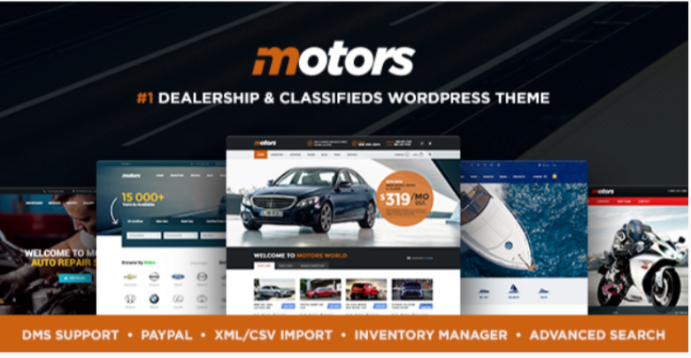 Motors- Marketplace WordPress Themes