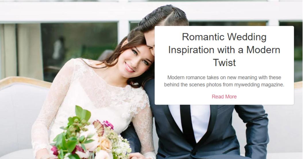 My Wedding- WordPress Wedding Themes