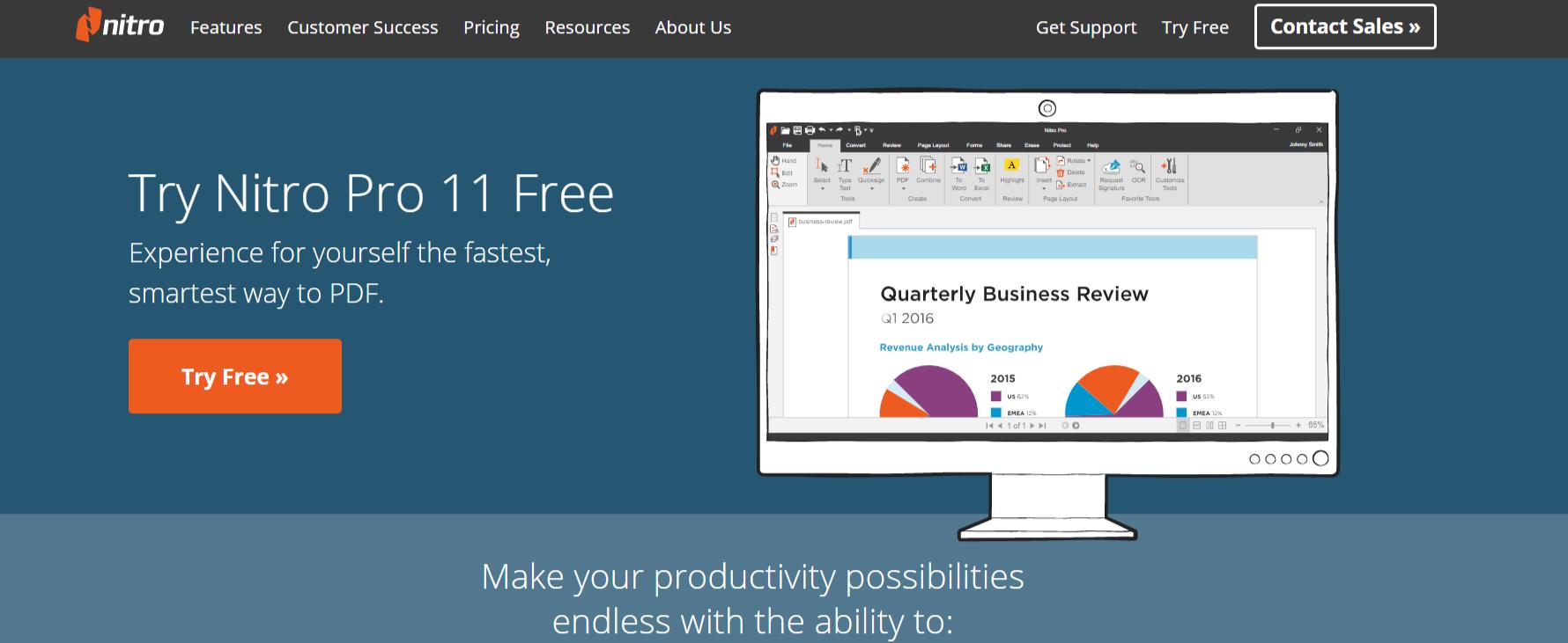 Nitro Pro 11- PDF Reader for Windows