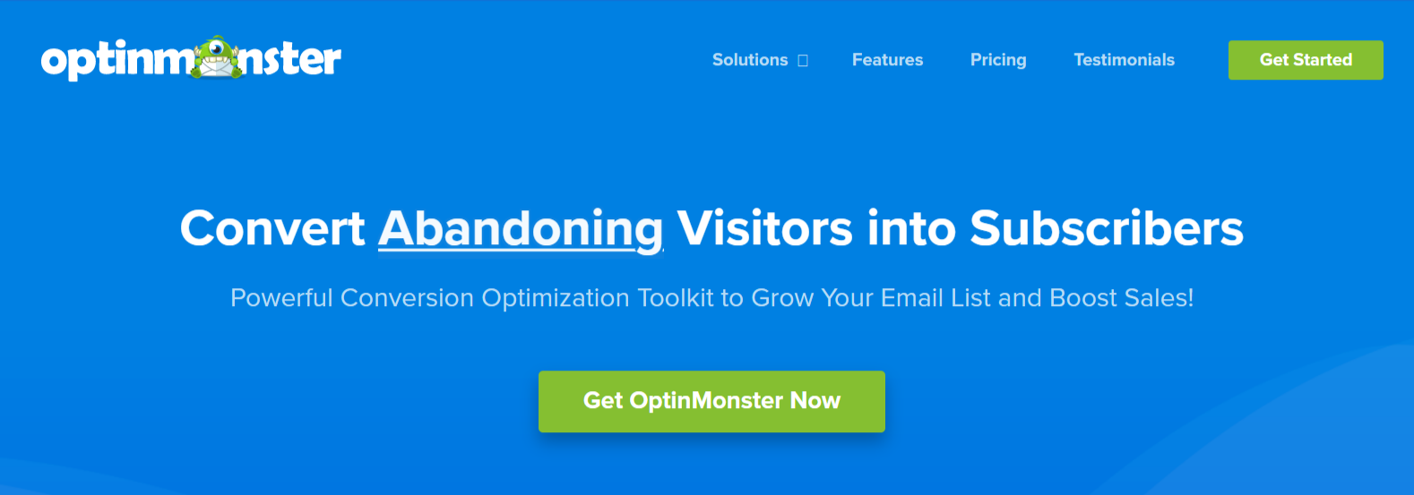 OptinMonster - WordPress Email Marketing Plugins