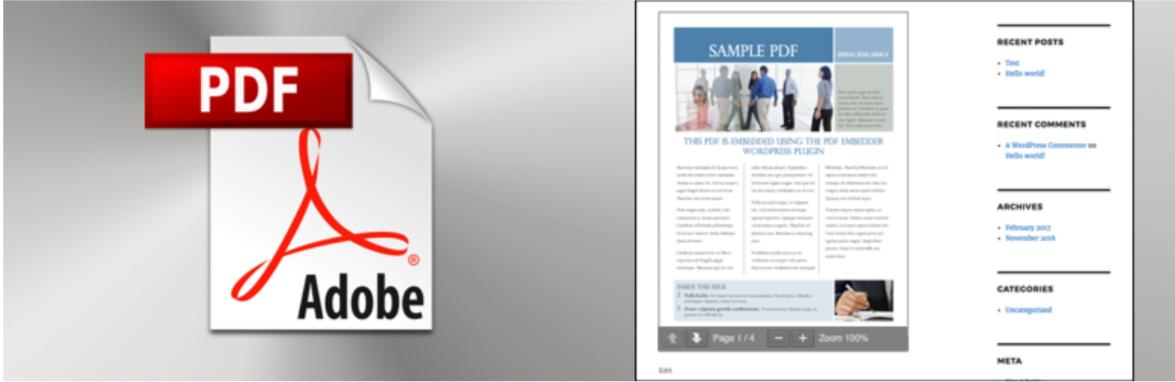 PDF Embedder — WordPress PDF Viewer Plugins