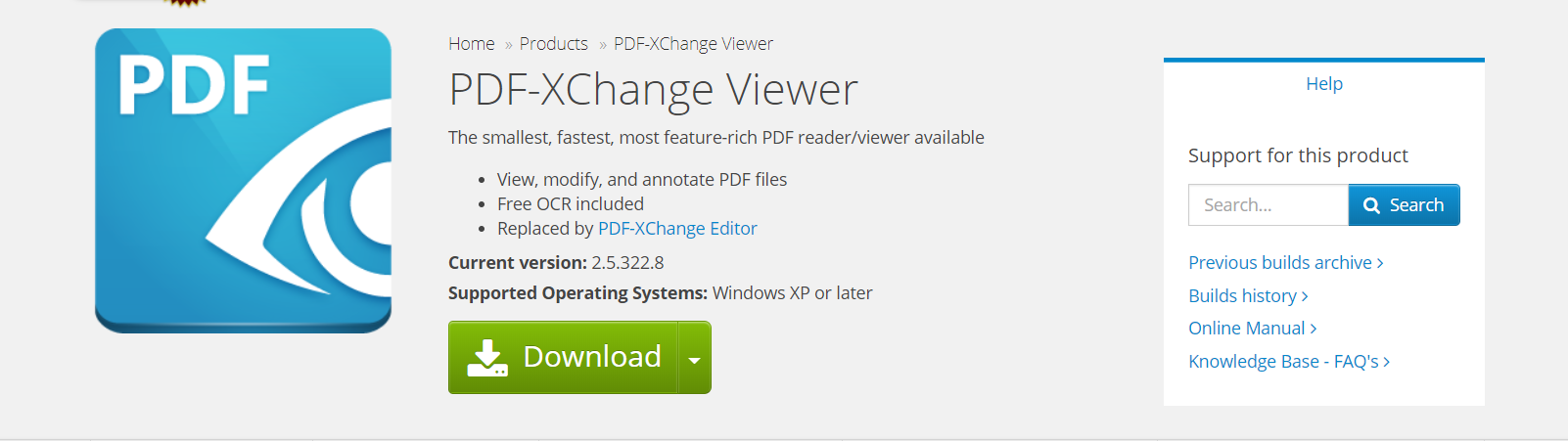 PDF-Xchange Viewer- PDF Reader for Windows OS