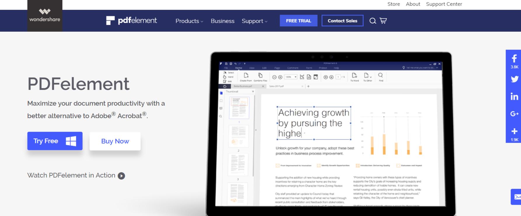 PDFelement- PDF reader for Windows